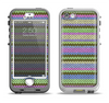 The Colorful Knit Pattern Apple iPhone 5-5s LifeProof Nuud Case Skin Set