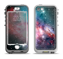 The Colorful Neon Space Nebula Apple iPhone 5-5s LifeProof Nuud Case Skin Set