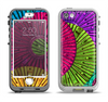The Colorful Segmented Wheels Apple iPhone 5-5s LifeProof Nuud Case Skin Set