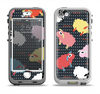 The Colorful Sheep Polka Dot Pattern Apple iPhone 5-5s LifeProof Nuud Case Skin Set