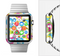 The Colorful Swirl Pattern Full-Body Skin Set for the Apple Watch