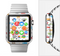 The Colorful Travel Collage Pattern Full-Body Skin Set for the Apple Watch