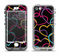 The Colorful Vector Hearts Apple iPhone 5-5s LifeProof Nuud Case Skin Set
