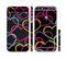 The Colorful Vector Hearts Sectioned Skin Series for the Apple iPhone 6/6s Plus