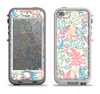 The Colorful Vector Leaves Apple iPhone 5-5s LifeProof Nuud Case Skin Set