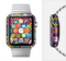 The Colorful Vibrant Hexagons Full-Body Skin Set for the Apple Watch