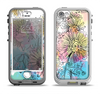 The Colorful WaterColor Floral Apple iPhone 5-5s LifeProof Nuud Case Skin Set