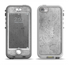 The Concrete Grunge Texture Apple iPhone 5-5s LifeProof Nuud Case Skin Set