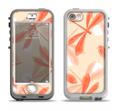 The Coral DragonFly Apple iPhone 5-5s LifeProof Nuud Case Skin Set