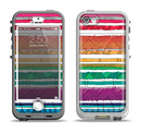 The Crayon Colored Doodle Patterns Apple iPhone 5-5s LifeProof Nuud Case Skin Set