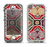 The Creative Colorful Swirl Design Apple iPhone 5-5s LifeProof Nuud Case Skin Set