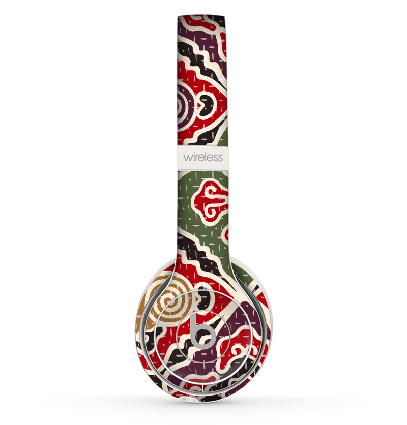 The Creative Colorful Swirl Design Skin Set for the Beats by Dre Solo 2 Wireless Headphones