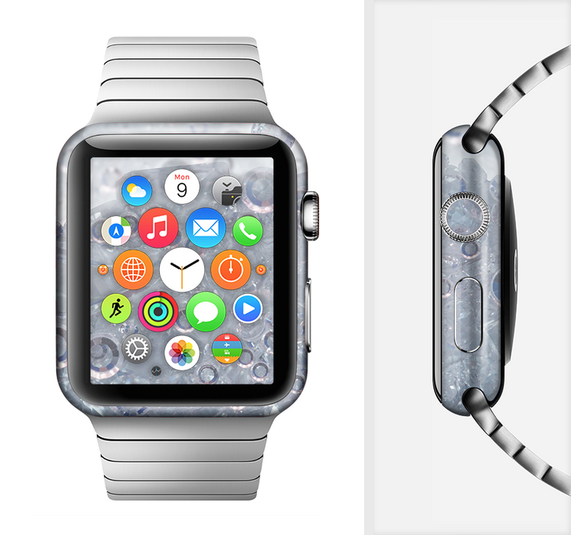 The Crystalized Full-Body Skin Set for the Apple Watch
