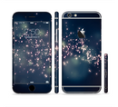 The Dark & Glowing Sparks Sectioned Skin Series for the Apple iPhone 6/6s Plus