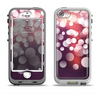 The Dark Purple with Glistening Unfocused Light Apple iPhone 5-5s LifeProof Nuud Case Skin Set