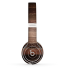 The Dark Wood Texture V5 Skin Set for the Beats by Dre Solo 2 Wireless Headphones