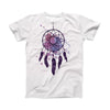 The Dreamcatcher Splatter ink-Fuzed Front Spot Graphic Unisex Soft-Fitted Tee Shirt