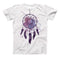 The Dreamcatcher Splatter ink-Fuzed Unisex All Over Full-Printed Fitted Tee Shirt