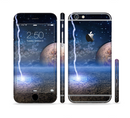 The Energy Planet Discharge Sectioned Skin Series for the Apple iPhone 6/6s Plus