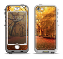 The Fall Back Road Apple iPhone 5-5s LifeProof Nuud Case Skin Set