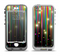 The Falling Neon Color Strips Apple iPhone 5-5s LifeProof Nuud Case Skin Set