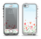 The Field of Blooming Hearts Apple iPhone 5-5s LifeProof Nuud Case Skin Set