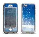 The Frozen Snowfall Pond Apple iPhone 5-5s LifeProof Nuud Case Skin Set