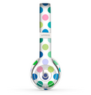 The Fun Colored Vector Polka Dots Skin Set for the Beats by Dre Solo 2 Wireless Headphones