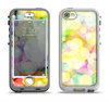 The Glistening Colorful Unfocused Circle Space Apple iPhone 5-5s LifeProof Nuud Case Skin Set