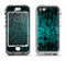 The Glowing Digital Green Dots Apple iPhone 5-5s LifeProof Nuud Case Skin Set