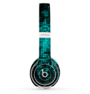 The Glowing Digital Green Dots Skin Set for the Beats by Dre Solo 2 Wireless Headphones
