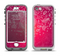 The Glowing Pink & White Lace Apple iPhone 5-5s LifeProof Nuud Case Skin Set