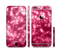 The Glowing Unfocused Pink Circles Sectioned Skin Series for the Apple iPhone 6/6s Plus