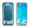 The Glowing White Snowfall Apple iPhone 5-5s LifeProof Nuud Case Skin Set