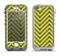 The Gold & Black Sketch Chevron Apple iPhone 5-5s LifeProof Nuud Case Skin Set