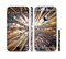 The Gold Distracted Mercury Sectioned Skin Series for the Apple iPhone 6/6s Plus