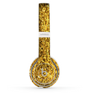 The Gold Glimmer Skin Set for the Beats by Dre Solo 2 Wireless Headphones