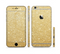 The Gold Glitter Ultra Metallic Sectioned Skin Series for the Apple iPhone 6/6s Plus