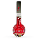 The Gold Ribbon Love Hearts Skin Set for the Beats by Dre Solo 2 Wireless Headphones