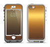 The Gold Shimmer Surface Apple iPhone 5-5s LifeProof Nuud Case Skin Set