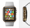 The Golden Glowing Stars Full-Body Skin Set for the Apple Watch