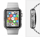 The Graycale Layer Checkered Pattern Full-Body Skin Set for the Apple Watch