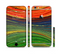 The Green, Blue and Red Painted Oil Waves Sectioned Skin Series for the Apple iPhone 6/6s Plus