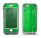 The Green Highlighted Wooden Planks Apple iPhone 5-5s LifeProof Nuud Case Skin Set