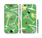 The Green Martini Drinks With Lemons Sectioned Skin Series for the Apple iPhone 6/6s Plus