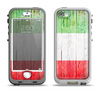The Green, White and Red Flag Wood Apple iPhone 5-5s LifeProof Nuud Case Skin Set