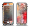 The Grungy Colorful Faded Paint Apple iPhone 5-5s LifeProof Nuud Case Skin Set