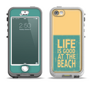 The Grungy Life Is Good At The Beach Apple iPhone 5-5s LifeProof Nuud Case Skin Set