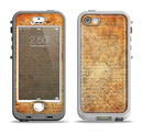 The History Word Overlay V2 Apple iPhone 5-5s LifeProof Nuud Case Skin Set