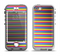 The Horizontal Multicolored Stripes Apple iPhone 5-5s LifeProof Nuud Case Skin Set